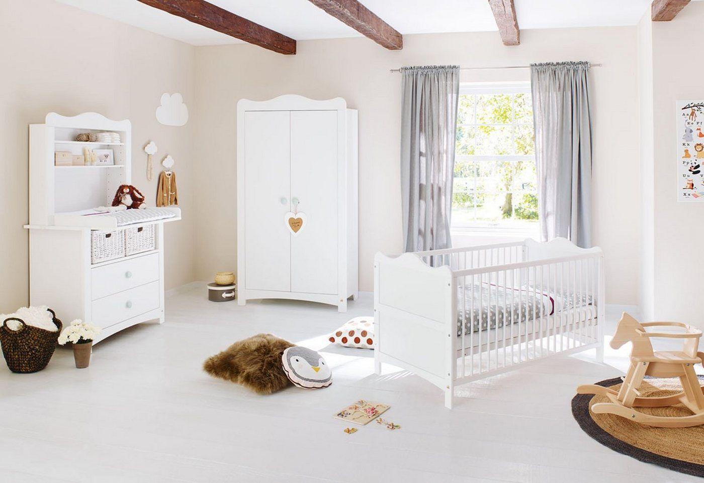 Pinolino Babyzimmer Komplettset Florentina Breit Mit