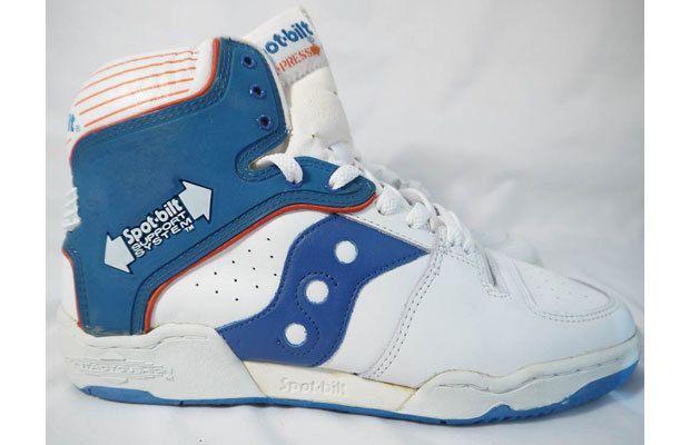0e53589a8a4 Spot-Bilt X-Press - 1986 - I believe these were Xavier McDaniel s signature  shoe. Awful!!