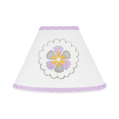 Bed Bath And Beyond Lamp Shades Amazing Buy Sweet Jojo Designs Suzanna Lamp Shade In Lavenderwhite From Bed Design Ideas
