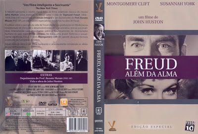 projetor antigo: Freud Além da Alma 1962 Leg avi 1962 , Drama/Biografia , John Huston , Larry Parks , Legendado , Montgomery Clift , Susannah York