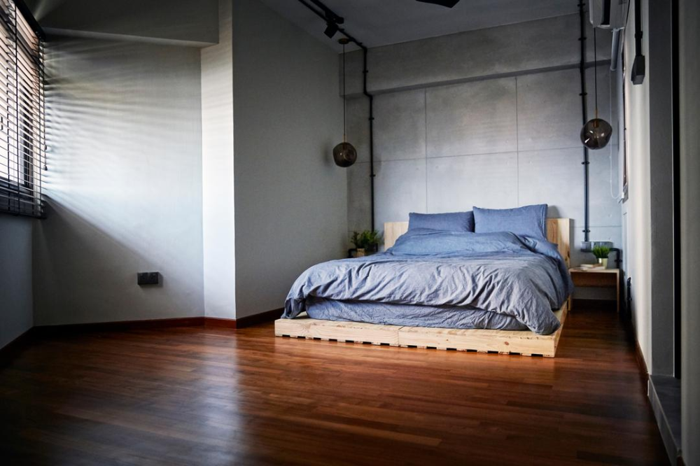 How To Refresh Your 3 Room Resale Flat Change The Layout In 2020 Bedroom Interior Interior Design Bedroom Interior Design Singapore
