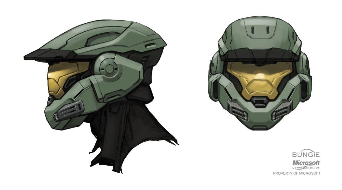 A Blog About Concept Art And Design Halo Armor Helmet Concept Halo Spartan