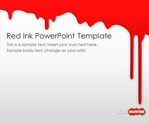 Free red ink powerpoint template is a free red background for free red ink powerpoint template is a free red background for microsoft powerpoint presentations with nice toneelgroepblik Choice Image