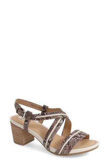 9b169909c4f5a5 Geox  Symi  Sandal (Women) Mid Heel Sandals