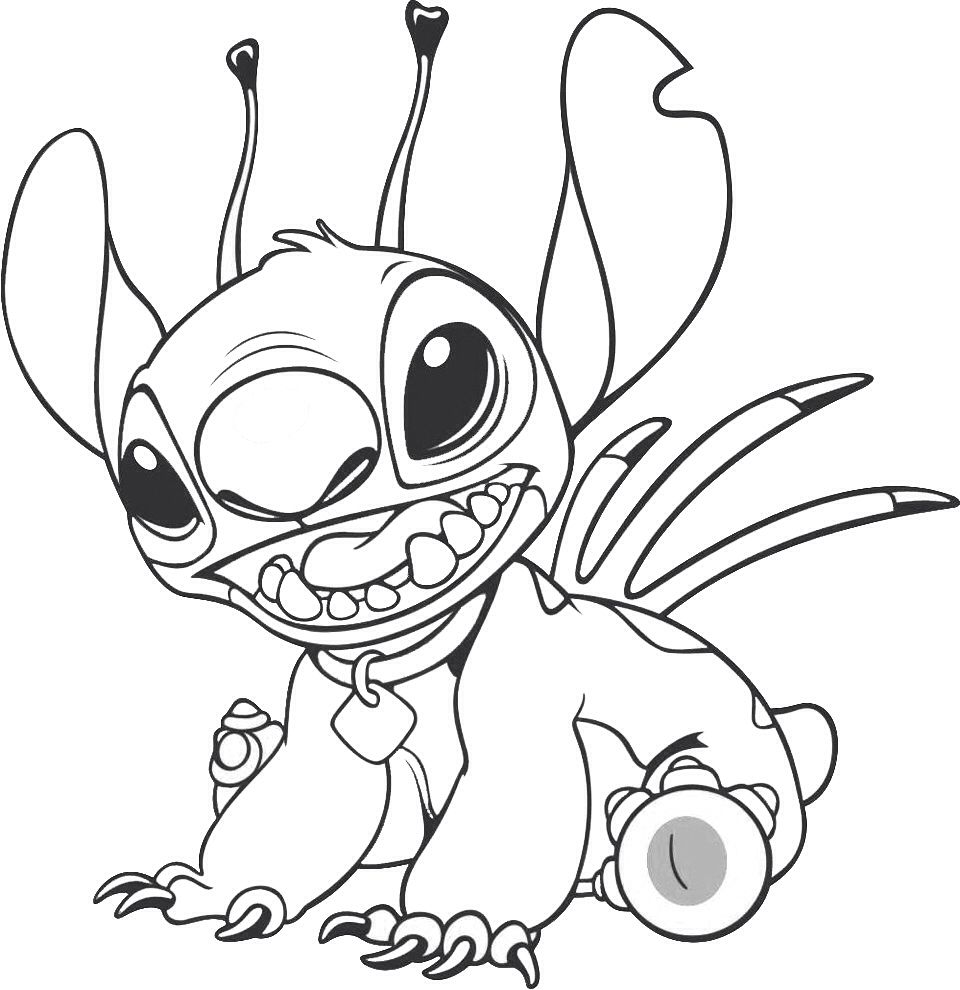 Pin By Joyous Sheree On Coloring Pages Stitch Coloring Pages Disney Coloring Pages Stitch Disney