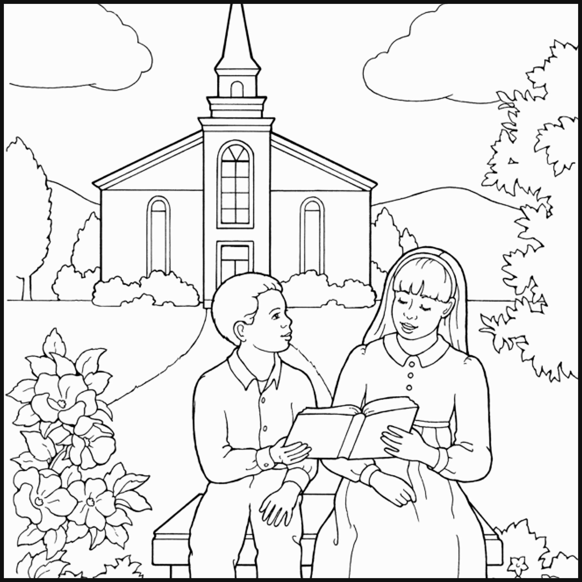 Remember The Sabbath Day Coloring Page Coloring Pages Lds