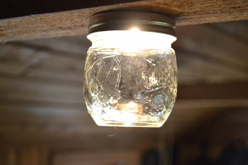 Too Cute Jar Lights 12 Volt Light Fixtures Off Grid Cabin