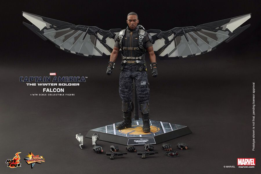 Image from http://aftimes.com/wp-content/uploads/Hot-Toys-Captain-America-The-Winter-Soldier-Falcon-Collectible-Figure_PR18.jpg.