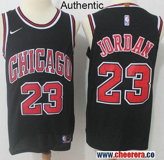 b259ce3d345 spain nike chicago bulls 23 michael jordan black nba authentic statement  edition jersey chicago bulls d9960