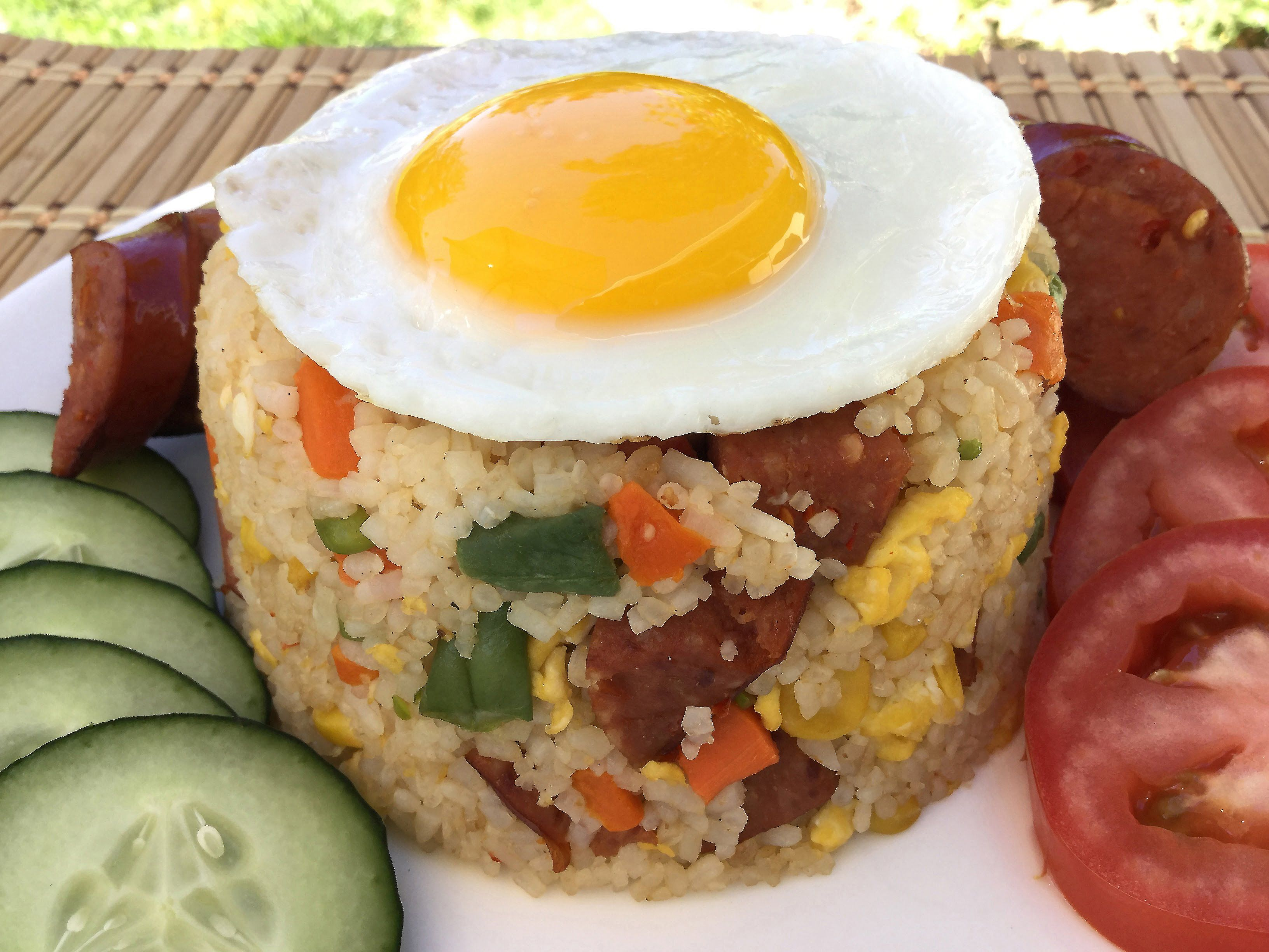 Easy chicken pork sausage fried rice chinese food recipes easy chicken pork sausage fried rice chinese food recipes restaurant forumfinder Choice Image
