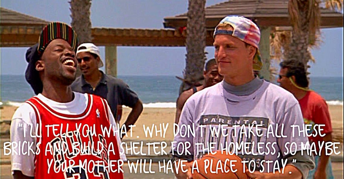 Billy Hoyle in White Man Can't Jump (With images) Funny