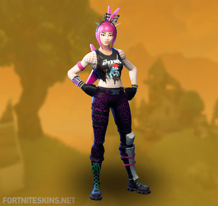 Power Chord Outfit In Fortnite Battle Royale Power Chord Fortnite Outfits