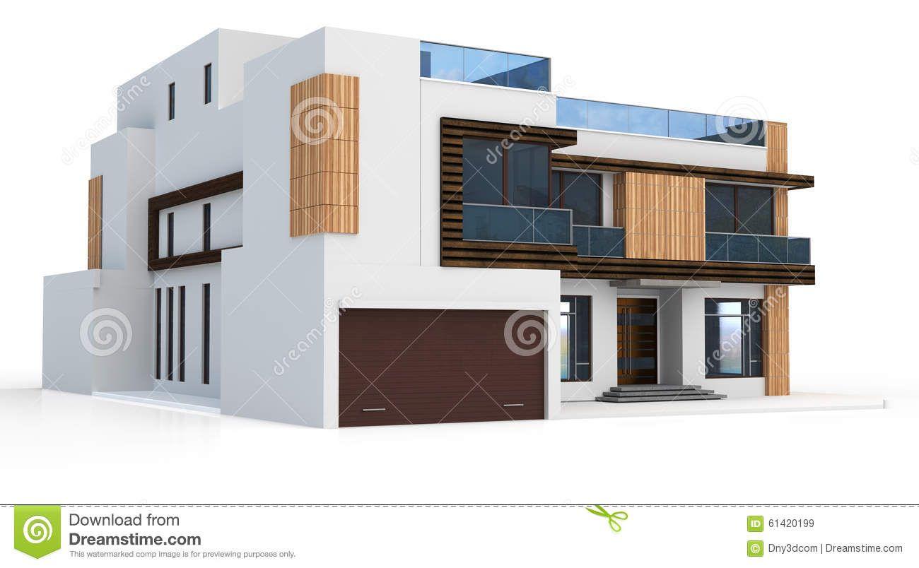House mansion. Hosue clipart modern a