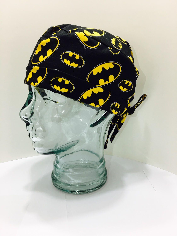 8511b4ad08f3b0 ... discount mens scrub surgical hat batman emblem by avagreysdesigns on  etsy dd592 39128