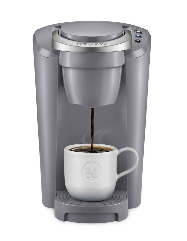 Keurig K Compact Coffee Maker Brewing System Single Serve Brewer K Cup Gray New Keurig Pod Coffee Makers Single Cup Coffee Maker Single Serve Coffee Makers