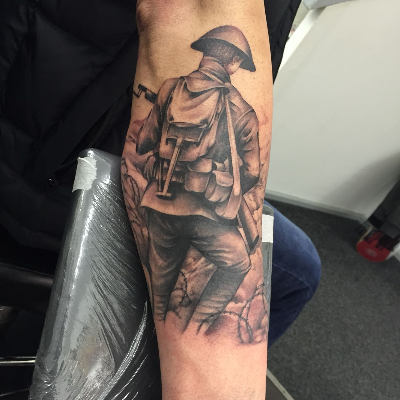 part of my wwi sleeve tattoos pinterest wwi and tattoo. Black Bedroom Furniture Sets. Home Design Ideas