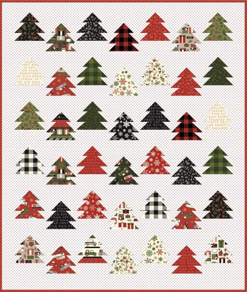Tree Farm Quilt Pattern From Keera Job Of Live Love Sew In 2020 Farm Quilt Farm Quilt Patterns Quilt Patterns