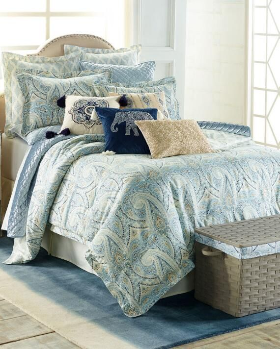 Piece Kaleidoscope Comforter Set, Nina Campbell Tapestry Bedding