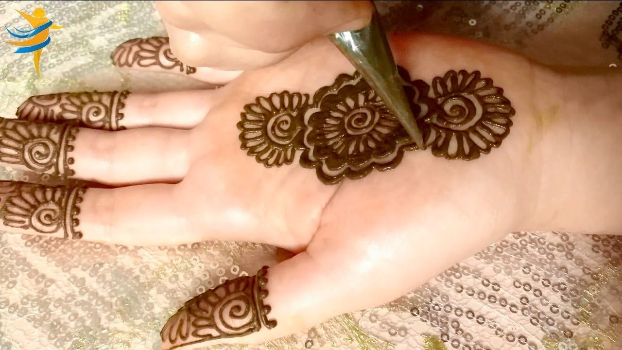 Easy Gol Tikki Mehndi Design New Stylish Full Hand Mehndi For Beginners Full Hand Mehndi Mehndi Designs Mehndi Simple
