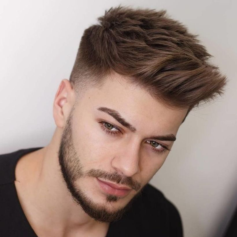 64 Stylish Short Haircut For Men In Fall Men Haircut Styles Mens Haircuts Short Trending Hairstyles For Men