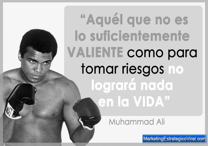 Pin En Frases De Muhammad Ali