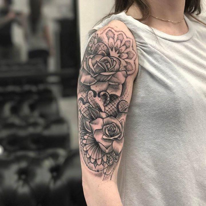 c156ee217 olio.tattoo Fullsleeve Sleeve Traditional Portrait Color Realism Realistic  Halfsleeve Tattoo by @steveee_g from