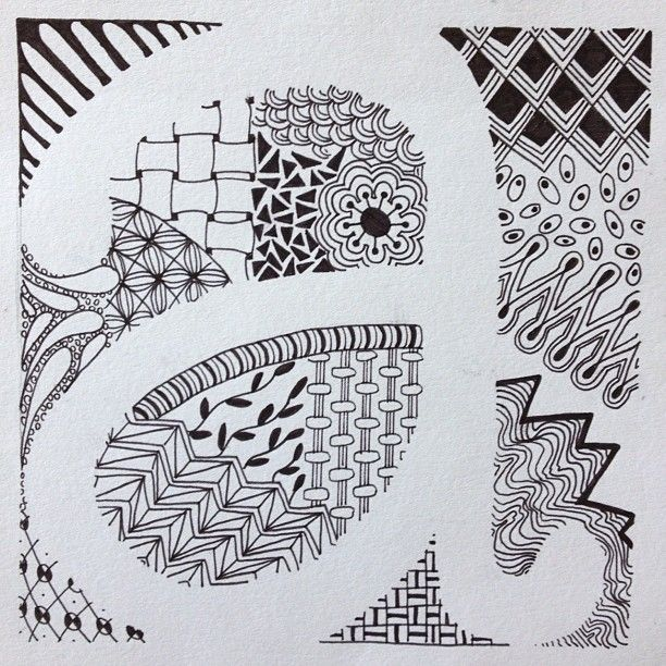 letter art examples one of my examples for 6th grade s zentangle letter 16661 | f5a02134232206de50aa5cd48c72066f