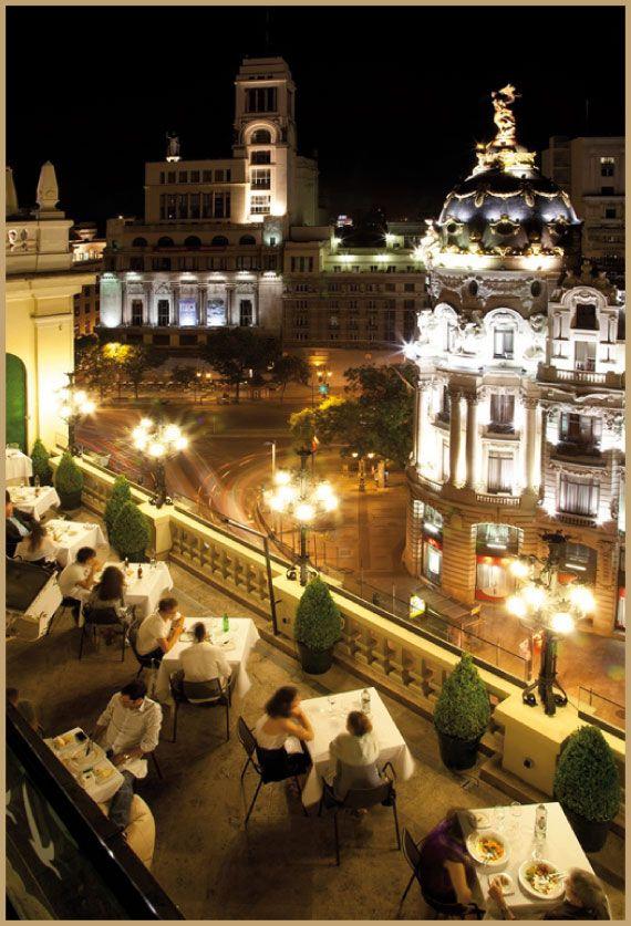 Terraza Lugares De Espana Viajar Por Espana Madrid Espana