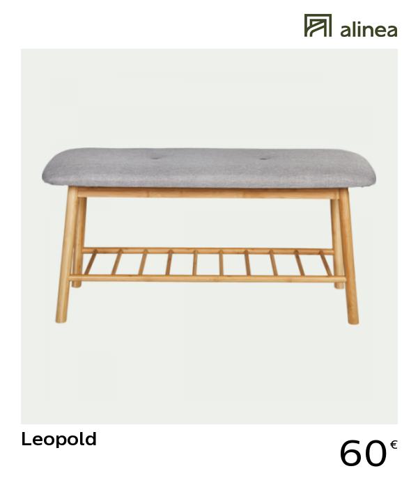 Alinea Decoration Leopold Banc D Entree En Bambou Mobilier De Salon Banc Entree Bancs