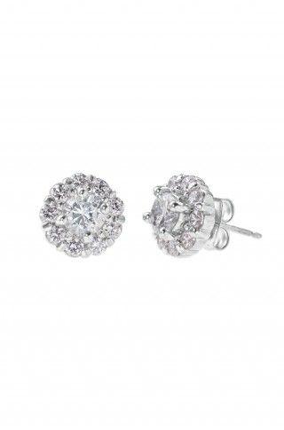 Glint Flower CZ Earrings  $39.00