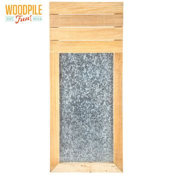 Slatted Message Board Wood Wall Decor | DIY | Pinterest | Message board
