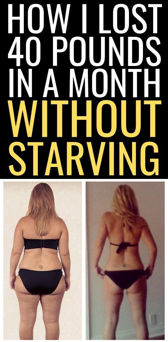 Need to lose 20 pounds in 2 weeks? Follow the advice of this 40-year-old mom who lost over 40 pounds...
