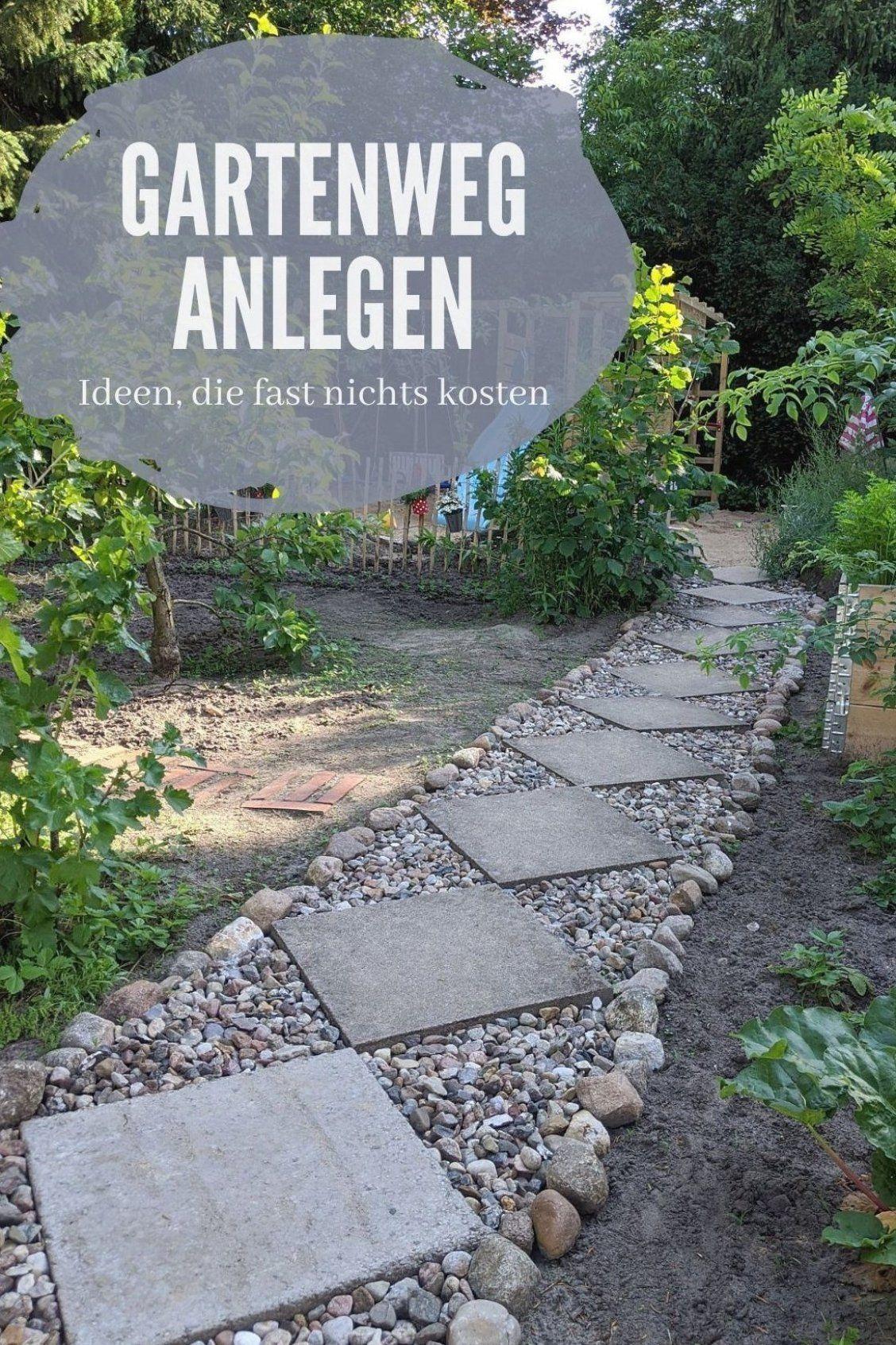 Gartenweg Anlegen Ideen Gartenwege Gestalten Kann Ziemlich Teuer Sein Hier Findet Man Gartenweg Ideen Die Fast Nichts In 2020 Gartenweg Garten Gartenwege Anlegen