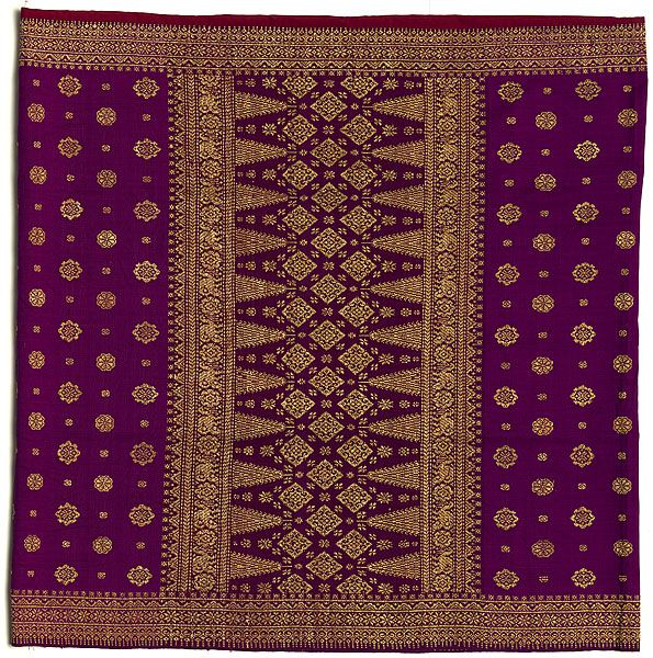Songket Is A Fabric That Belongs To The Brocade Family Of