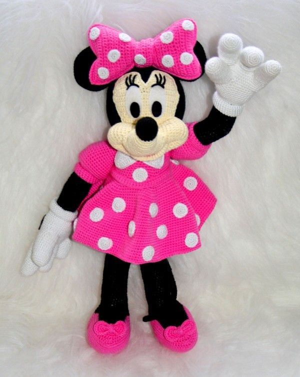 Minnie Anleitungen | Amigurumi | Pinterest | Minnie mouse, Amigurumi ...