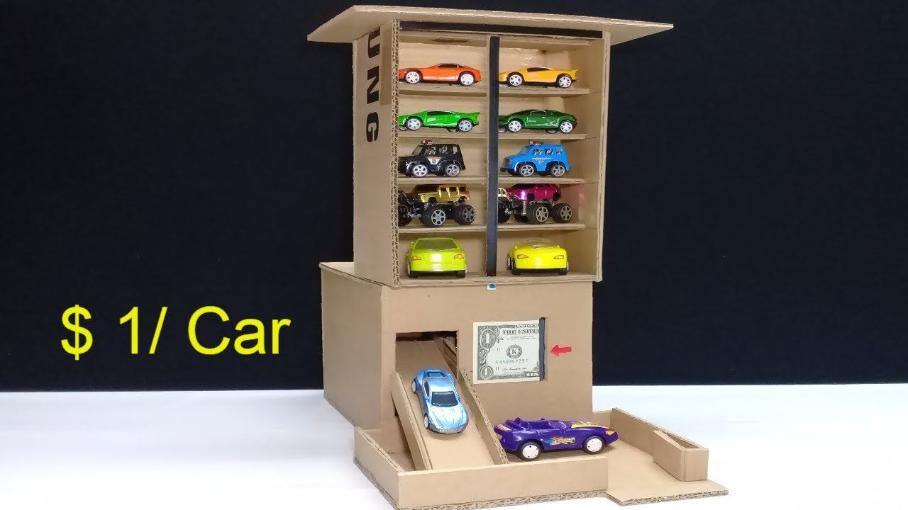 Amazing $ 1 per Car! Car Vending Machine - How to make Car Vending
