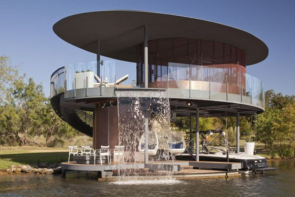 Circular Cottage Plans Awesome Boat House Boat House