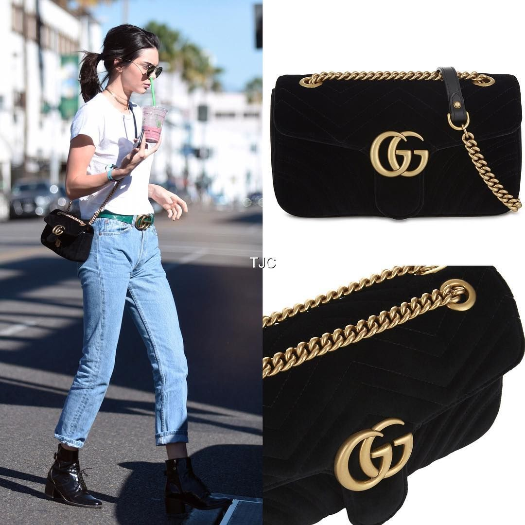 30b7562122b9 Image result for GG Marmont velvet mini bag | Accessories... Never ...