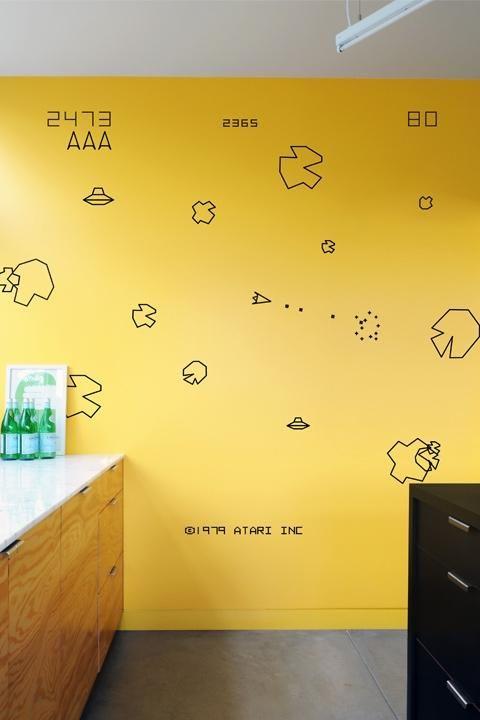Retro Game Wall Art: Home Designs   Things We Like   Pinterest ...