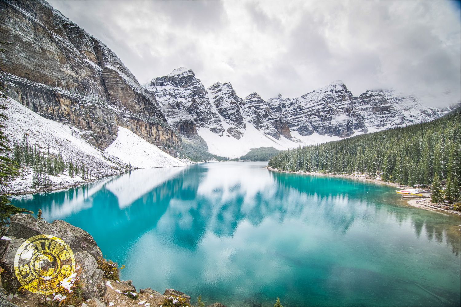 Lake Moraine - Banff National Park - Things to do in Banff for the Non-Skier-1