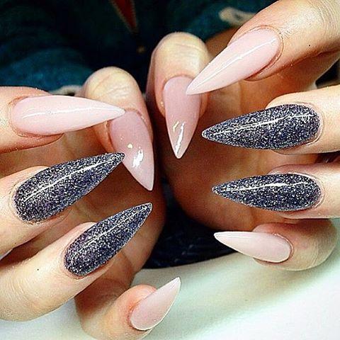Ideas design acrylic nail