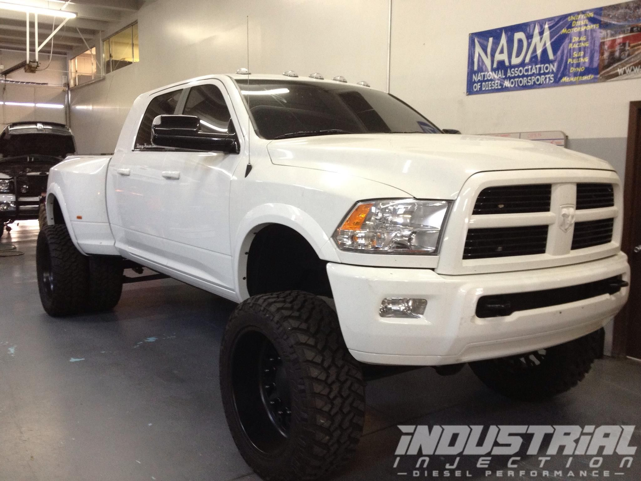 Industrial Injection's 4th gen dually. Diesels