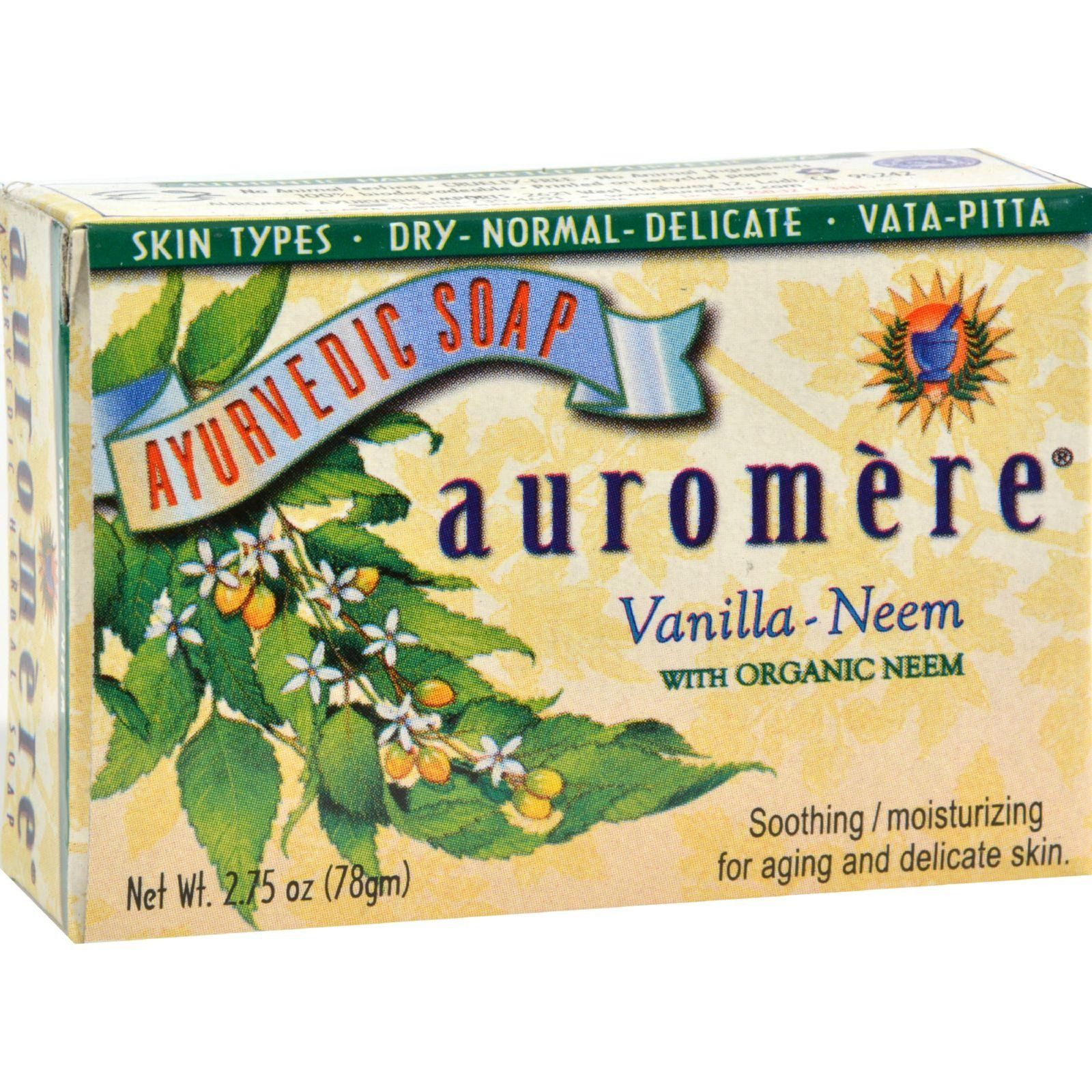 12,000 items in stock for healthier living,  Auromere Bar Soap... Click on the link http://allnaturalwarehouse.com/products/auromere-bar-soap-ayurvedic-vanilla-neem-2-75-oz?utm_campaign=social_autopilot&utm_source=pin&utm_medium=pin