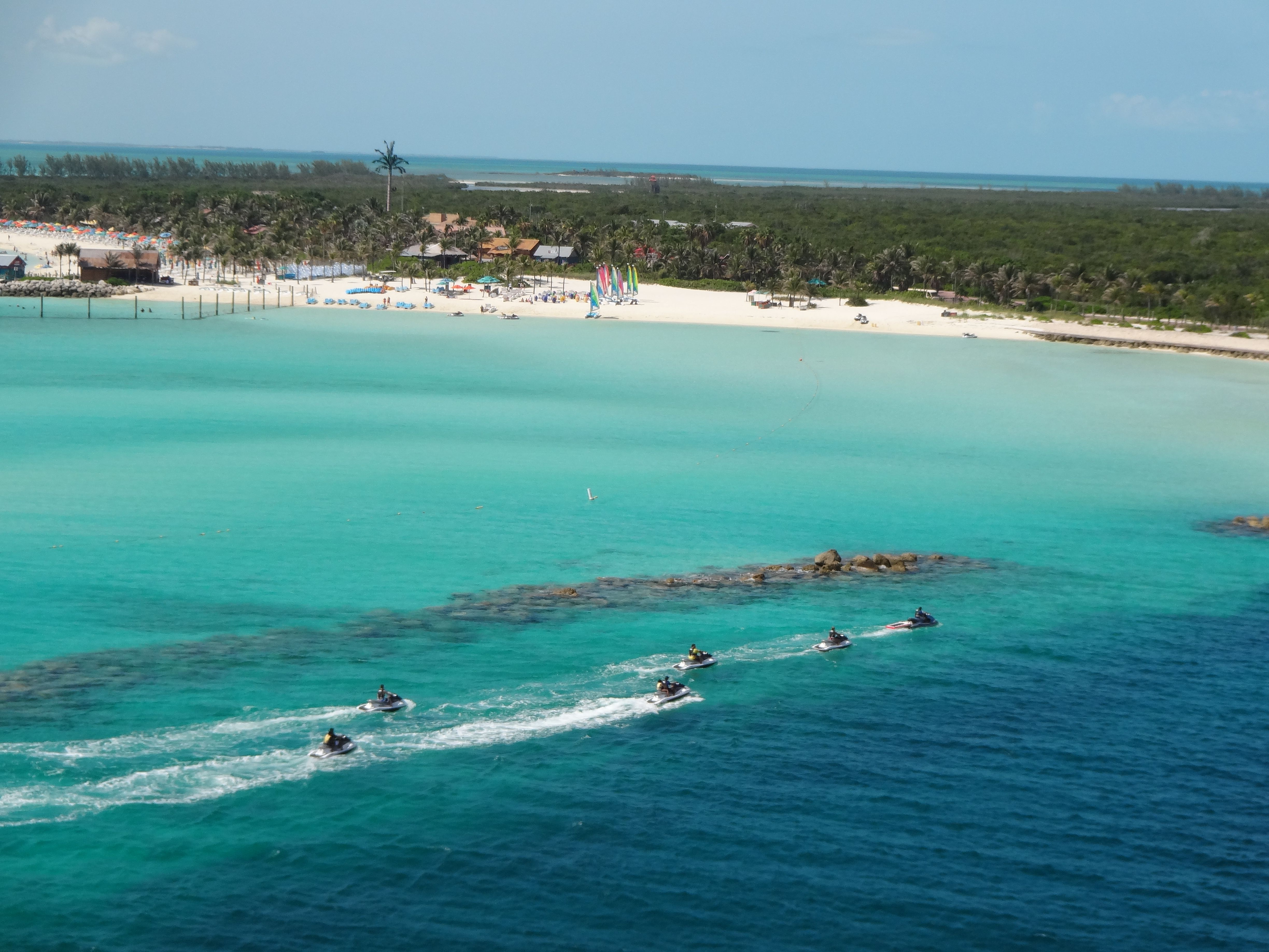 Castaway Cay is Disney's private island. It is a BIG reason to go on a Disney cruise! Fabulous