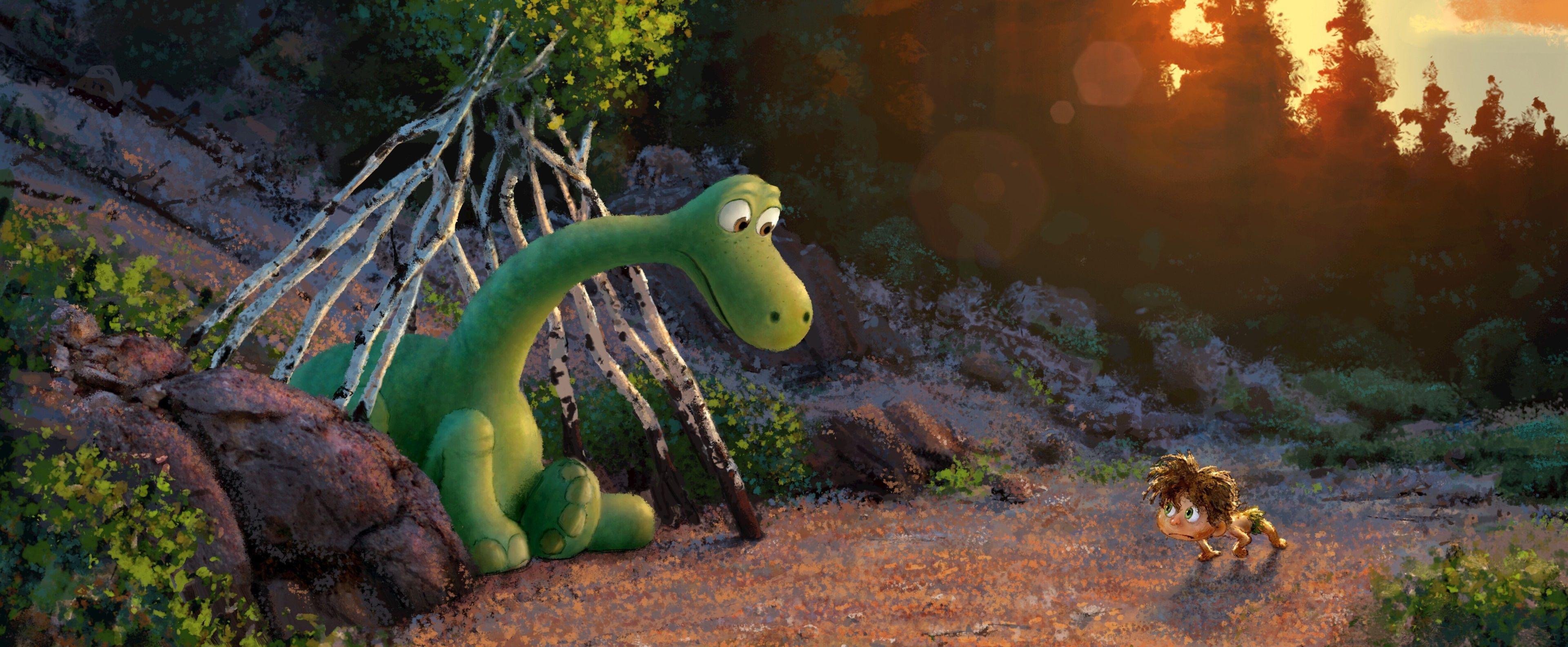 3840x1584 the good dinosaur 4k wallpaper hd pc download
