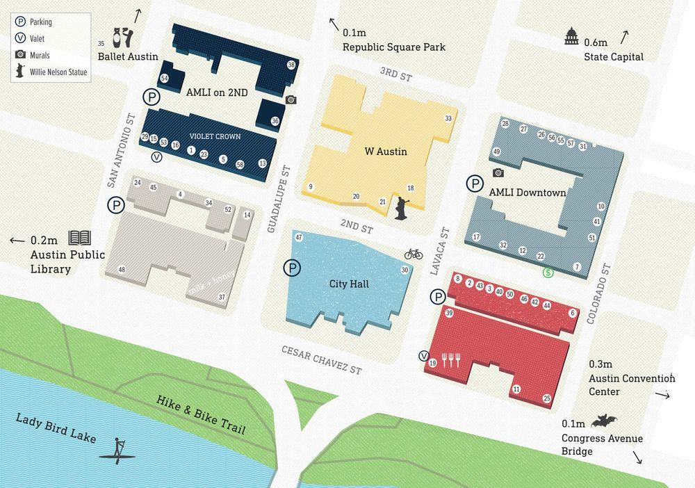 Map Jpg St Austin City Hall State Capitals
