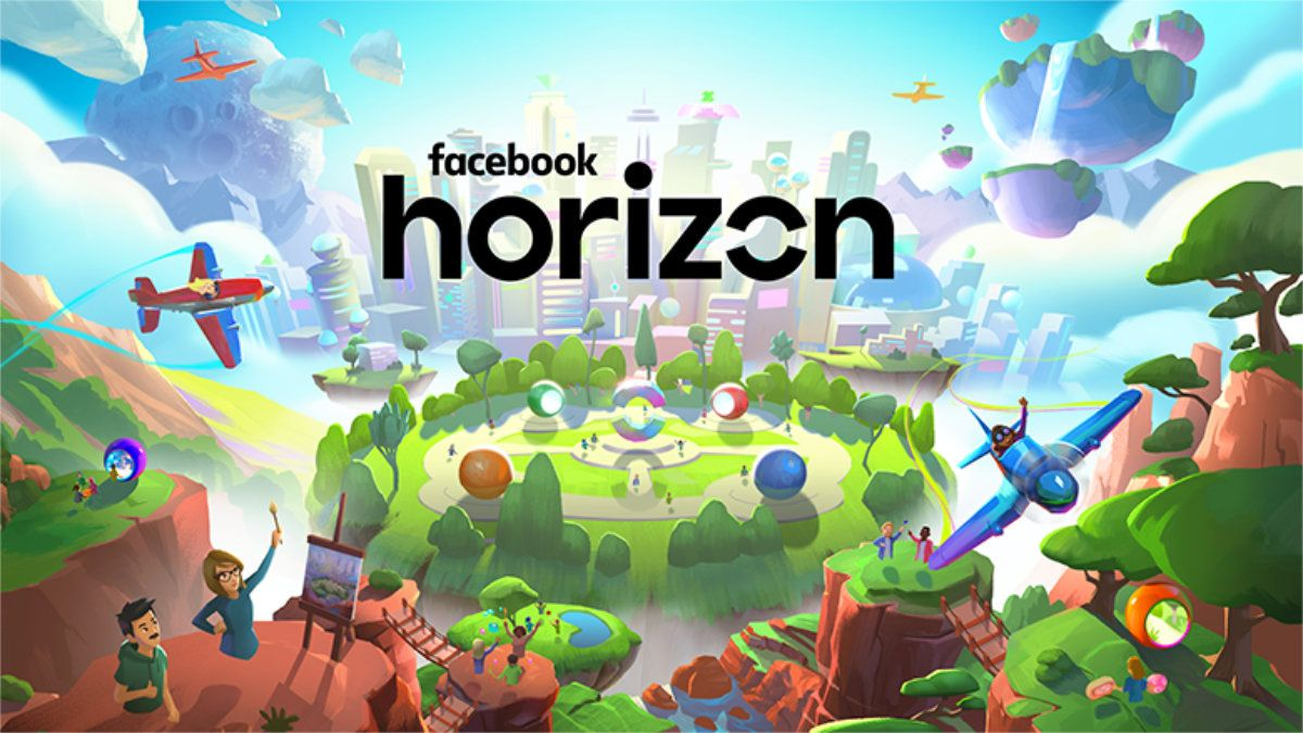 Horizon Facebook dévoile son monde virtuel massivement