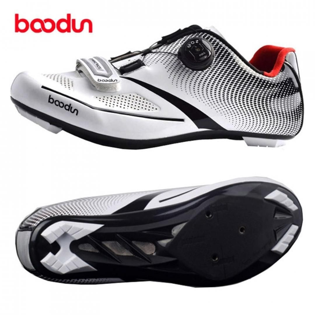Boodun 2018 Ultralight Self Locking Pro Men S Cycling Shoes Road