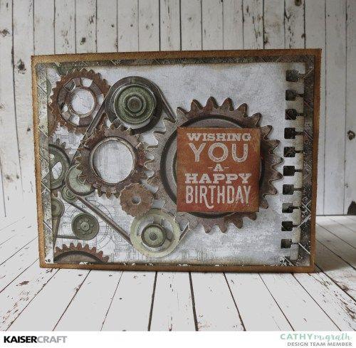 U0027Happy Birthdayu0027 Card By Cathy McGrath Design Team Member For Kaisercraft  Official Blog.