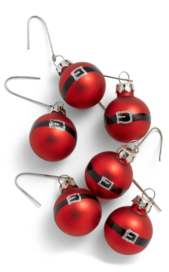 Cute Santa Ornament Set http://rstyle.me/n/s9qyibh9c7